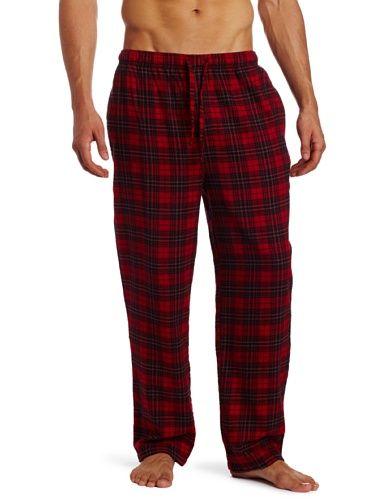 still  pijamas | Nautica Men's Sleepwear Theo Plaid Flannel Pant, Theo Plaid, Large