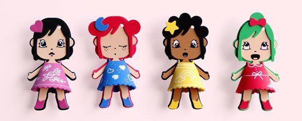 my little eva noa zoe ili #diy #manualidades #loisirs #creatifs #missmiza #muñeca #doll #poupée