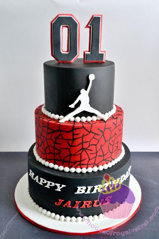 Michael Jordan Cake by  House of Royal Velvet - located in Perth, Western Australia  @tasiaduchesne