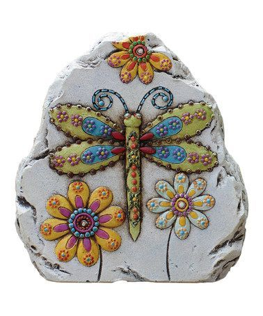 Dragonfly Garden Gem Stone: