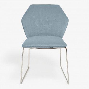 14 best blue velvet dining chairs images on pinterest | blue