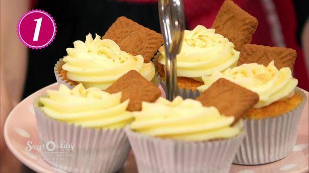 Cupcakes mit Spekulatius, das Rezept aus Enie backt