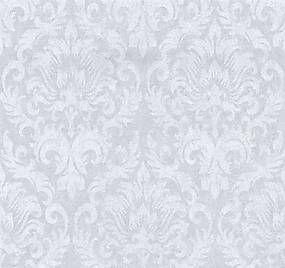 Vliesové tapety, zámocký vzor biely, Graziosa 4211630, P+S International, rozmer 0,53 m x 10,05 m