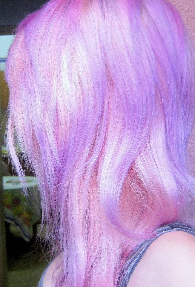 Pink cotton and light purple | Unique Hair Colors/Styles ...