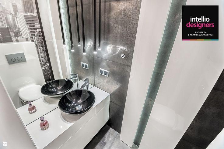 Łazienka styl Industrialny - zdjęcie od Intellio designers projekty wnętrz - Łazienka - Styl Industrialny - Intellio designers projekty wnętrz
