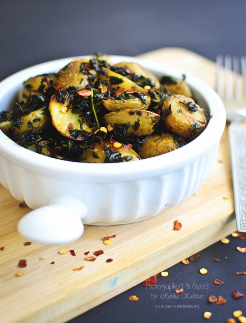 Pan roasted baby potatoes with herbs: Babies, Refreshing Salad, Easy, Healthy Side Dishes, Herbs Baby Potatoes, Roasted Baby Potatoes, Pan Roasted, Tasti Curries, Baby Recipespotato