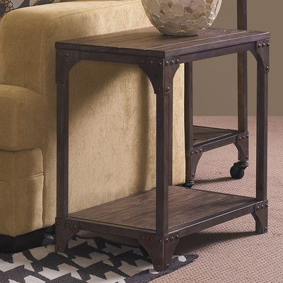 Powell Furniture Benjamin Chairside Table