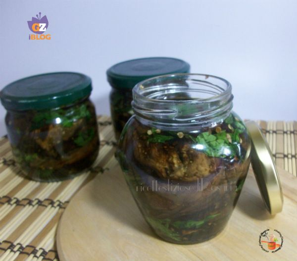 Melanzane grigliate sott'olio - ricetta conserve invernali