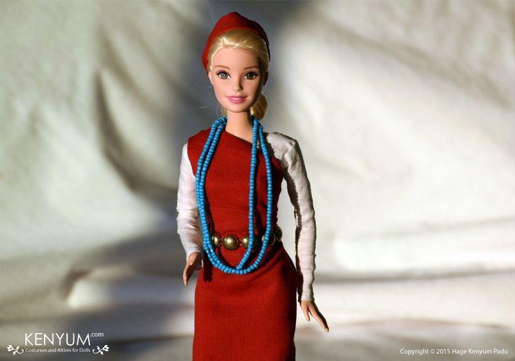 Barbie in Tagin attire