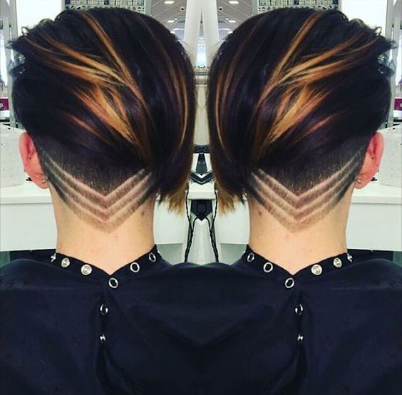 10 totaal verschillende korte kapsels in mooie warme bruine kleuren. Ga jij deze herfst ook voor een bruine haarkleur? - Kapsels voor haar
