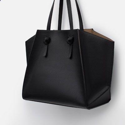 GEOMETRIC TOTE BAG SHOPPER-View all-Bags-WOMAN | ZARA United States