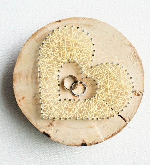 55 Unique Ring Pillow Alternatives | HappyWedd.com