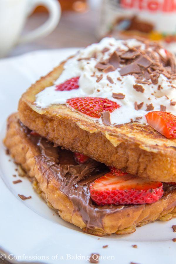 Les 25 meilleures idées de la catégorie Pain perdu nutella fraise ...