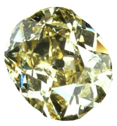 """October 13, 1867: Erasmus Jacobs, fifteen, discovers what he calls a """"pretty pebble"""" on a bank of the Orange River near Hopetown, South Africa. The """"pretty pebble"""" is later to be revealed as a 21.25-carat gem that is called the Eureka Diamond (above)."""