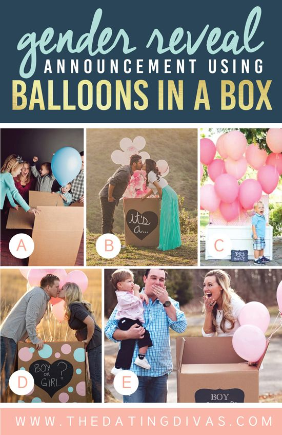 Creative ways to announce your babys gender - SheKnows