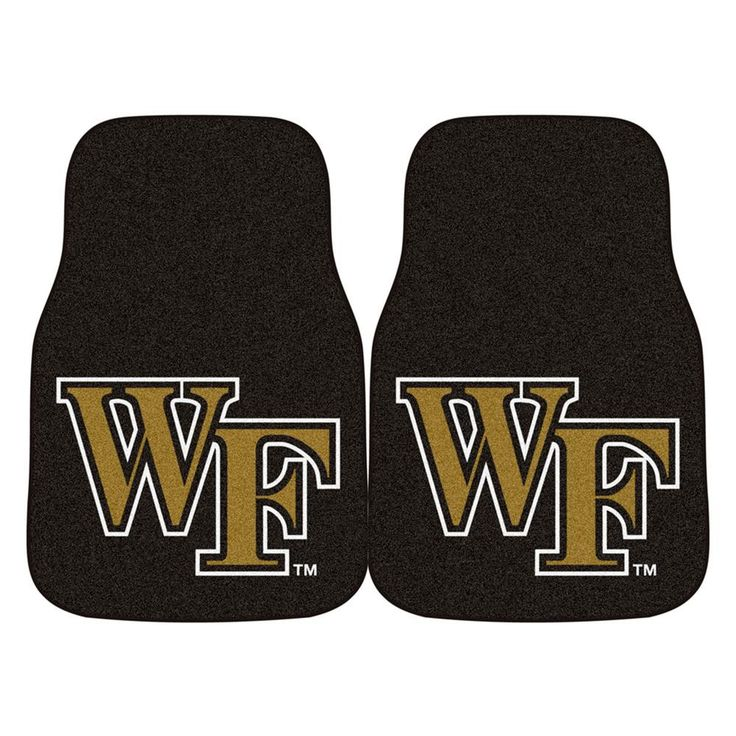 Wake Forest Demon Deacons NCAA Car Floor Mats (2 Front)