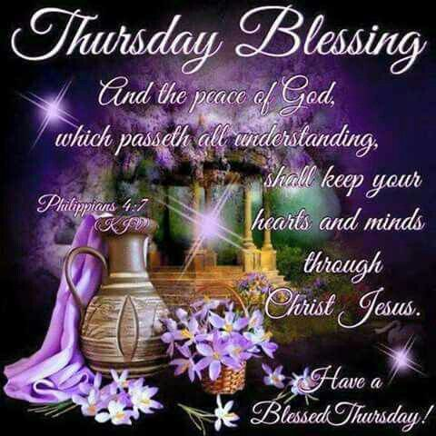 Pin on THURSDAY BLESSINGS