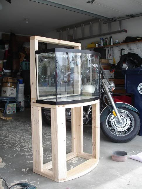 How To Make A Fish Tank Stand Out Of Wood - WoodWorking ...