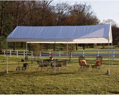 ShelterLogic 10 x 20 Deluxe All Purpose Canopy Carport - Canopies at Hayneedle