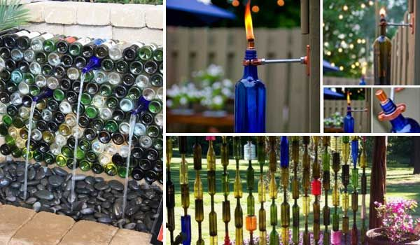 1000 ideas about wine bottle trees on pinterest yard for Fence ornaments ideas