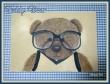 Teddy Bear--my painting pattern, on sale on www.romanticherie.it