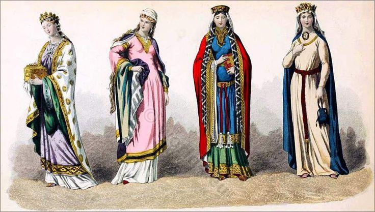 The Carolingian Fashion Period 987 to 1270.