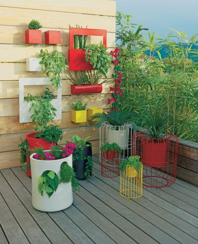 Decoración de terrazas y jardines: mobiliario exterior