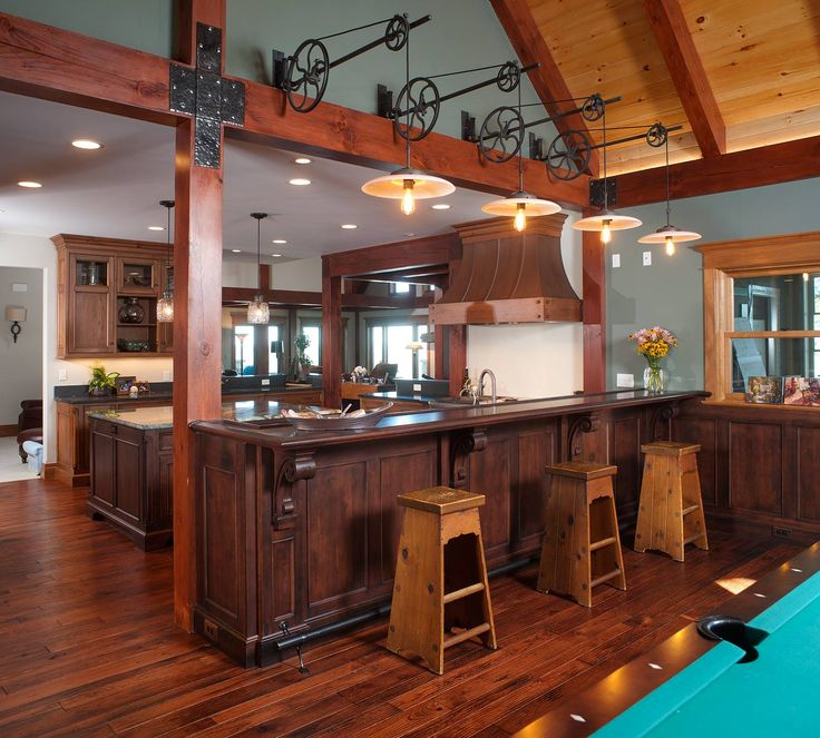 Cleveland Kitchen Cabinets: 22 Best Rustic Bars Images On Pinterest
