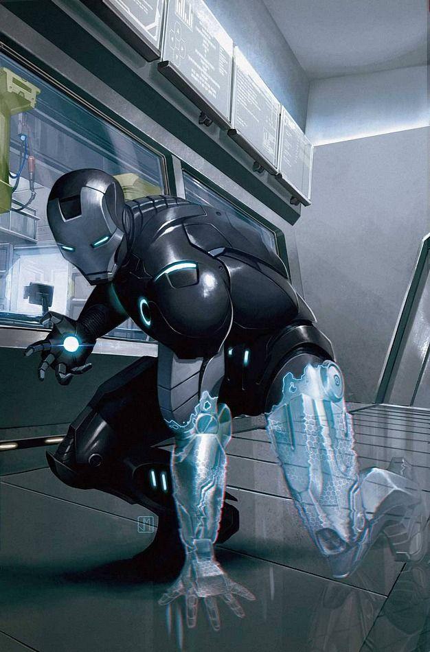 Iron Man Traje de armadura invisible