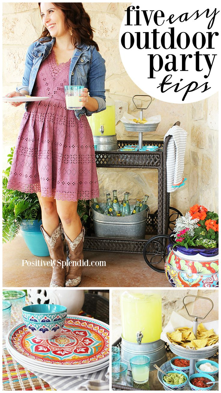 5 Smart Tips for Easy Outdoor Entertaining #BHGLiveBetter #ad