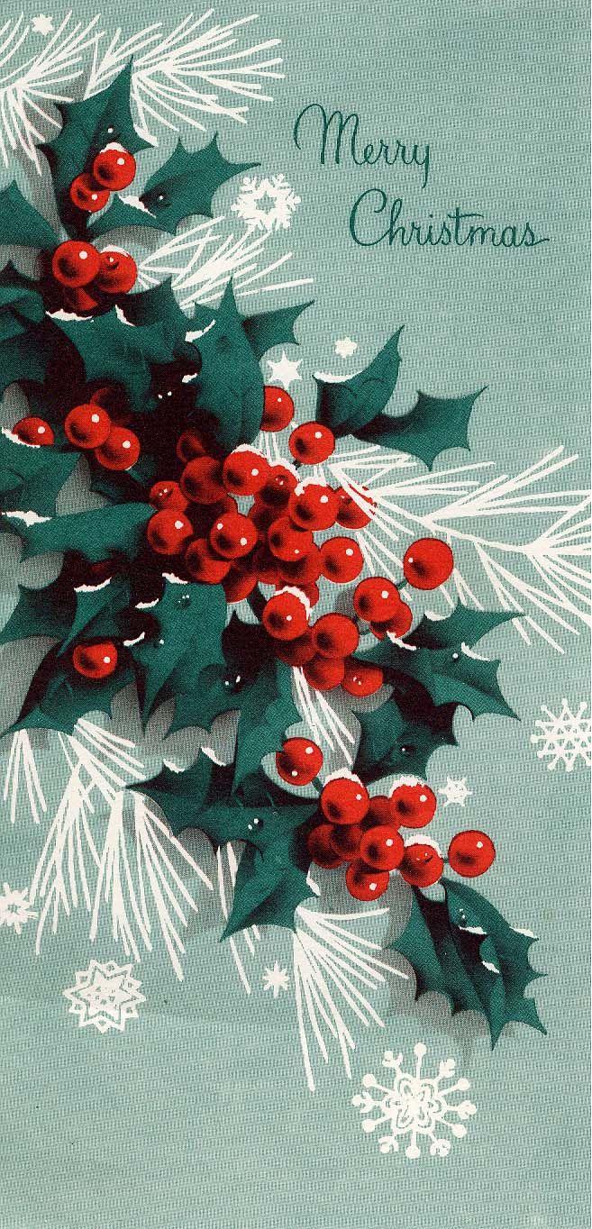 #Christmas #greeting #holly