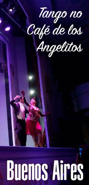 Show de tango no Café de Los Angelitos em Buenos Aires, uma ótima opção com jantar incluído. #buenosaires #tango #argentina