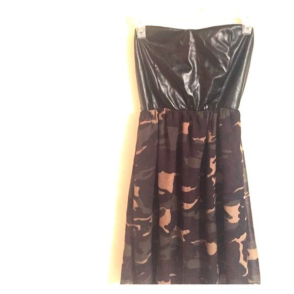 dress brand new with tags, good for any event! would make a cute outfit with a jean jacket & boots. Body Central Dresses Strapless