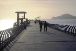 Il pontile nord di Bagnoli. | Bagnoli North Wharf.