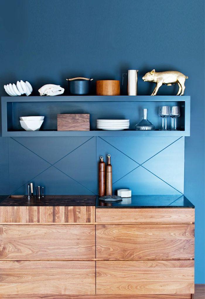 Die besten 25+ blaue Wände Küche Ideen auf Pinterest - dunkelblaue kche
