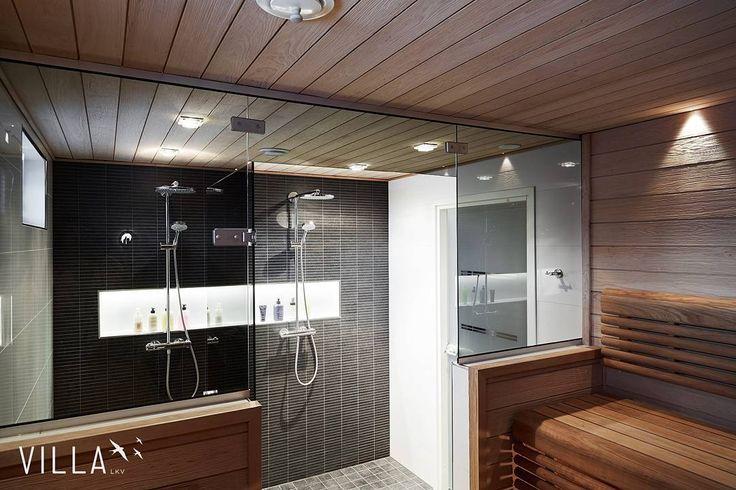 Joulu tuli ja meni, mutta saunoa voi myös tänään 😃 . . . Kuvan kohde: Omakotitalo, 4h+k+kph+s+2wc+khh, 145 m2, Kangasala, Tursola #Karjakonkaari_31 👌 . #asuntounelmia_unelmaasuntoja (paikassa Kangasala)