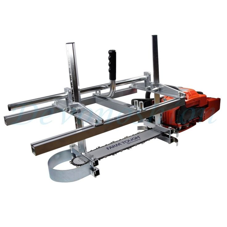 "Holzfforma Portable Chainsaw Mill Planking Milling From 14"" to 24"" Guide Bar 