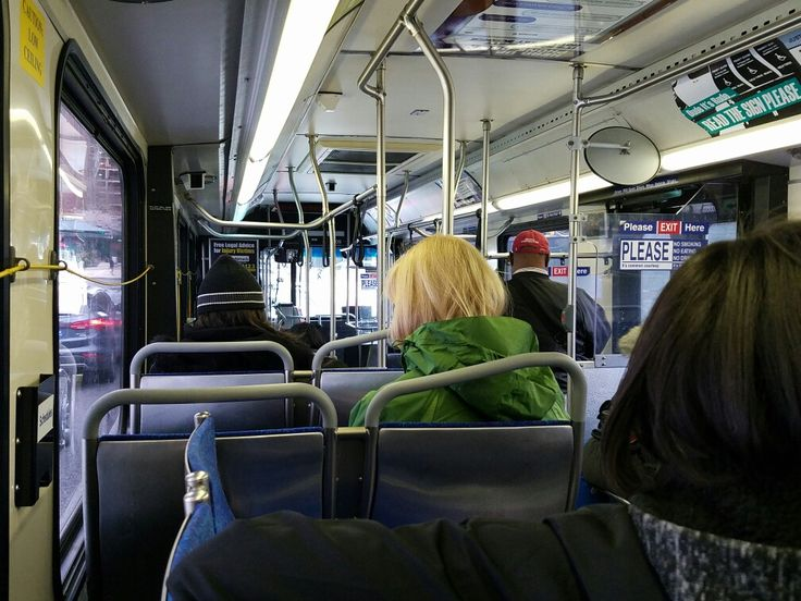 Aboard a northbound 2 SEPTA bus toward Pulaski and Hunting Park Avenue, via 16th Street in downtown Philadelphia.