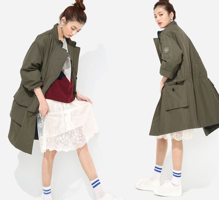 Military down parka for S/S