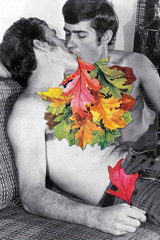 """""""Kiss"""" (2015), colagem da artista grega Eugenia Loli. Veja também: http://semioticas1.blogspot.com.br/2012/07/crianca-e-design.html"""