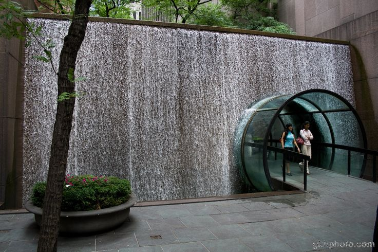 Water Wall, NYC