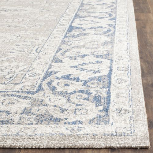 """Found it at Joss & Main - Cecily 5'1"""" x 7'6"""" Rug in Taupe & Blue"""