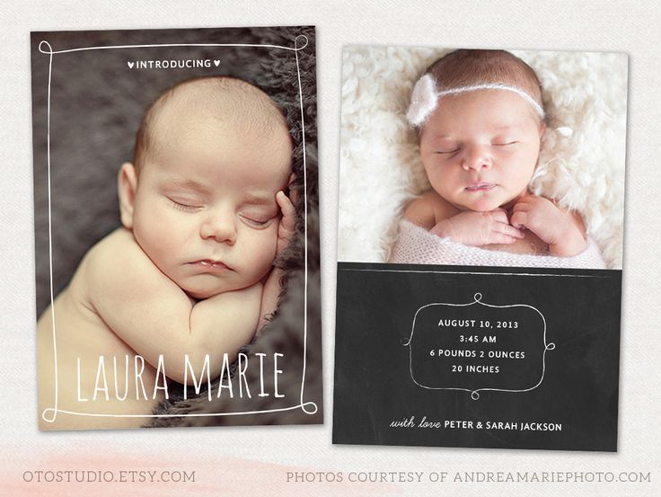17 best ideas about Birth Announcement Template – Free Birth Announcement Templates Photoshop
