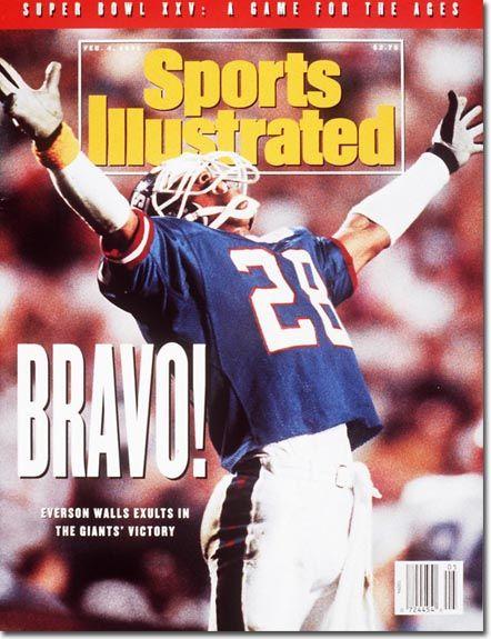 February 4, 1991 - The New York Giants, Superbowl XXV Champions.
