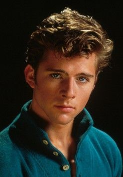 Maxwell Caulfield...the guy from Grease 2. He was hot in his day!