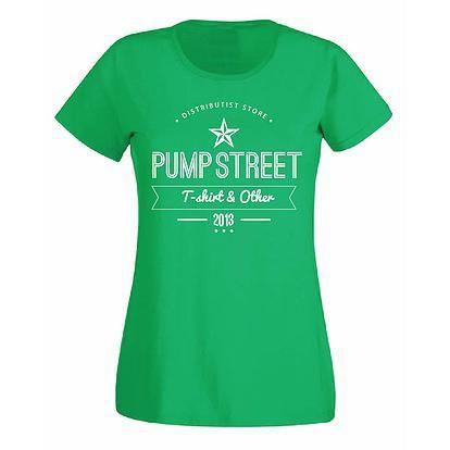 Stampa T-Shirt Donna #chesterton #frassati #distributismo #PUMPSTREET