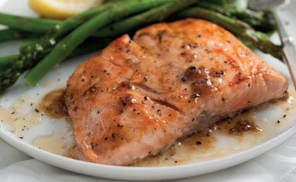 Chef Reuben Riffel's Ginger Salmon recipe: easy, healthy and so delicious...