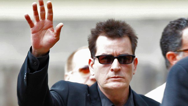 Charlie Sheen Right