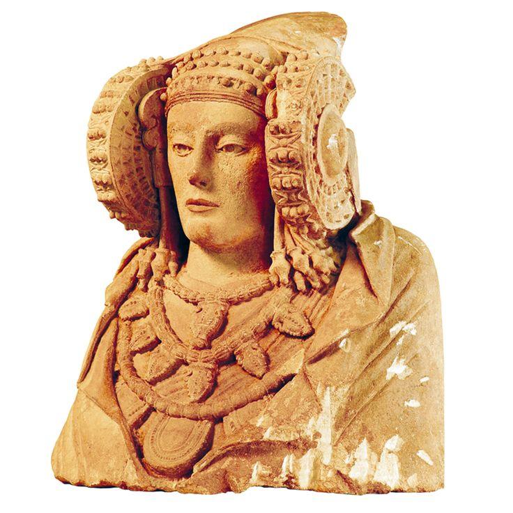Dama de Elche s. IV a.C la obra más importante del arte ibero.