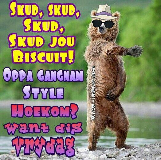 Want dis Vrydag